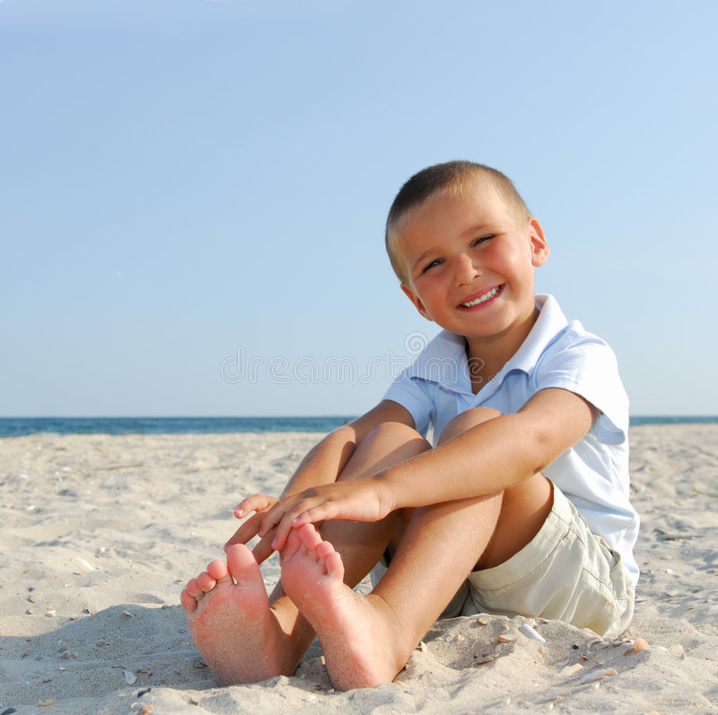 Free Child On Summer Vacations Stock Photos - 6246383