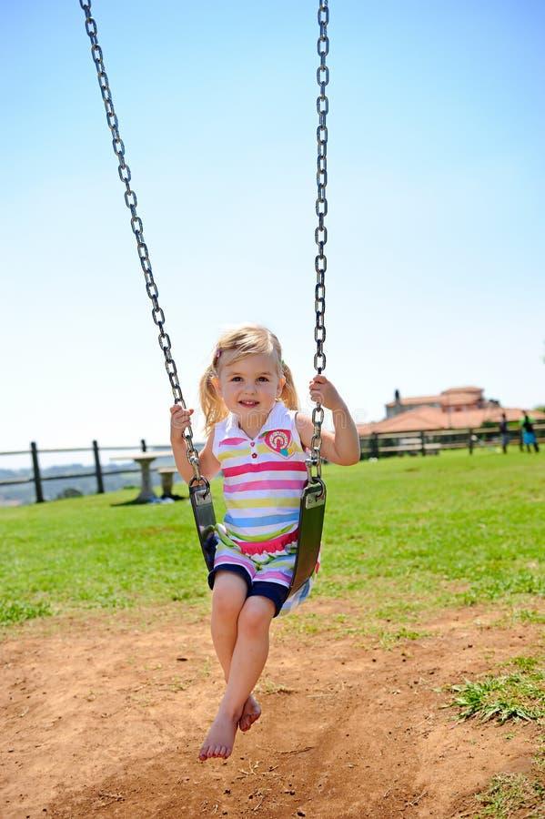 Free Child On Swing Royalty Free Stock Image - 17217866