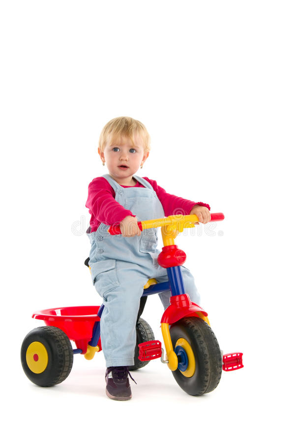 Free Child On Tricycle Stock Photo - 18587410