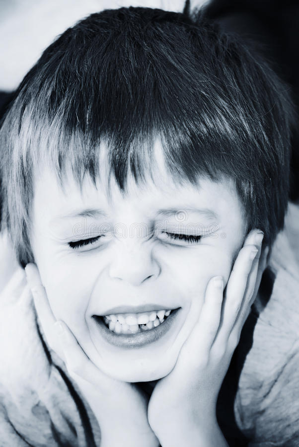 Child In Pain Royalty Free Stock Images