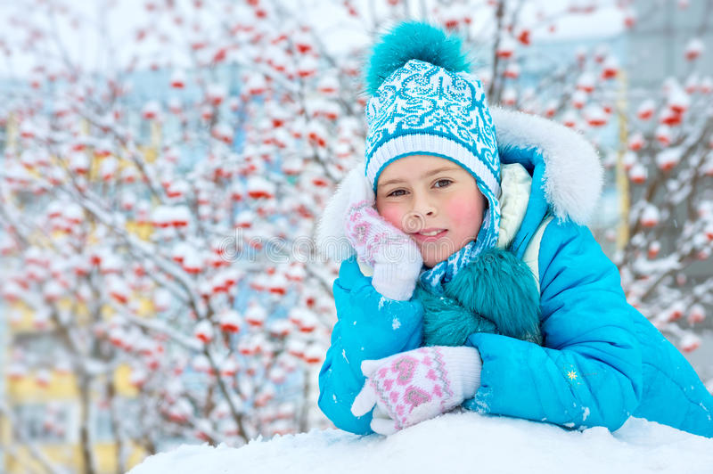 A child in the park. stock photography