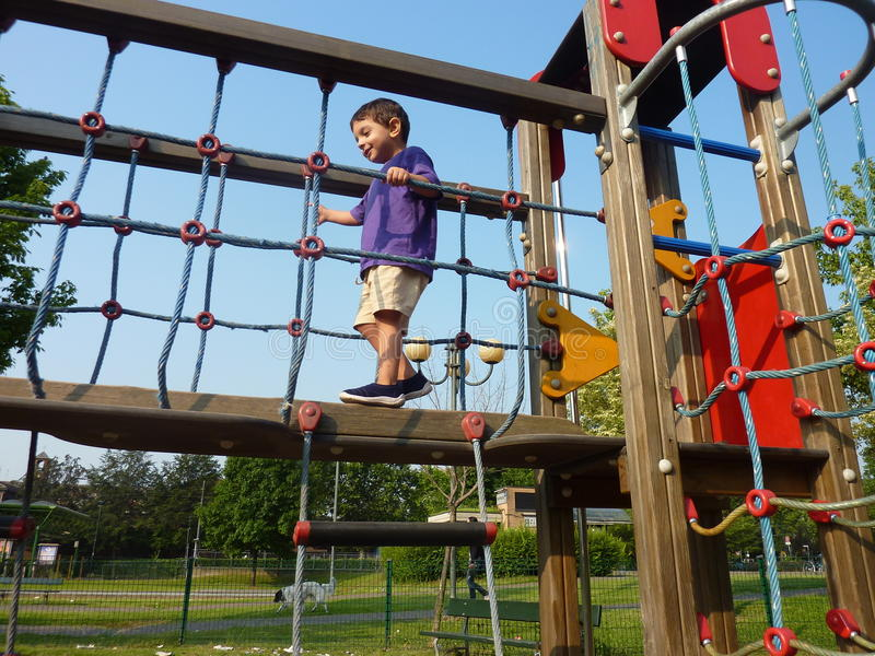 Download Child at the playground stock photo. Image of active - 15684226