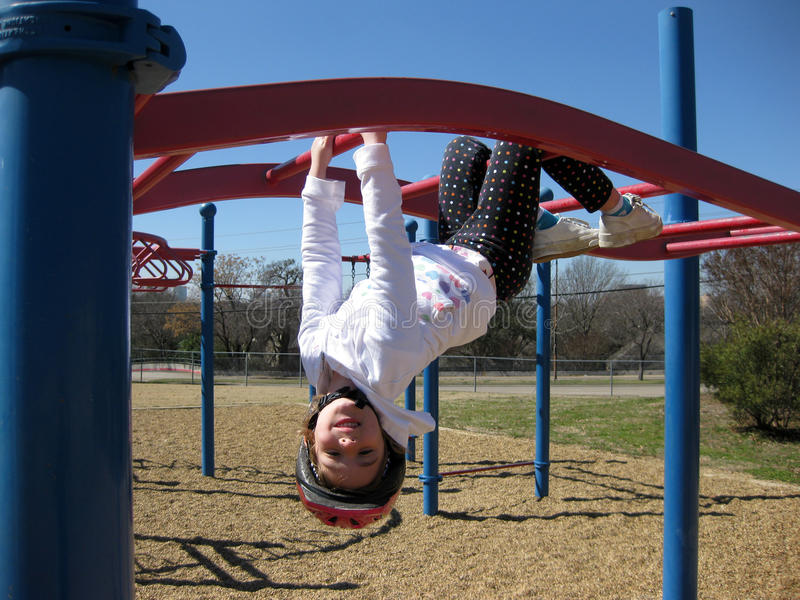 Child on Playground royalty free stock photography