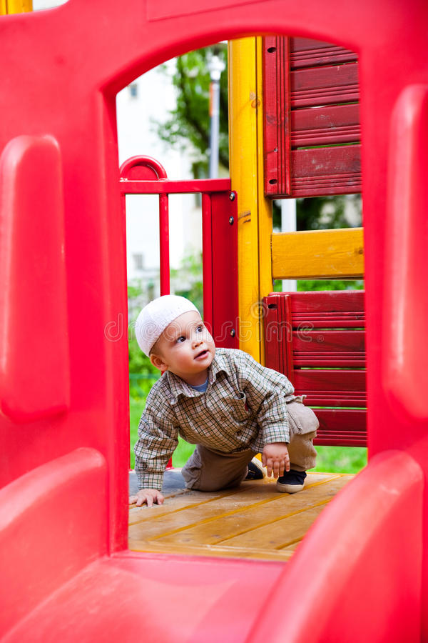 Download Child In Playground Stock Photography - Image: 19972112
