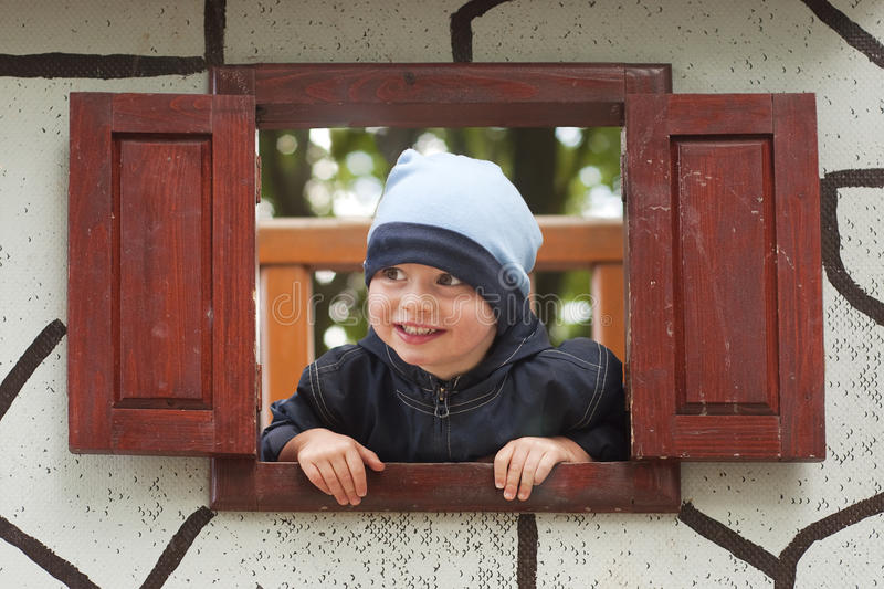 Download Child in playground stock image. Image of kids, cute - 20749915