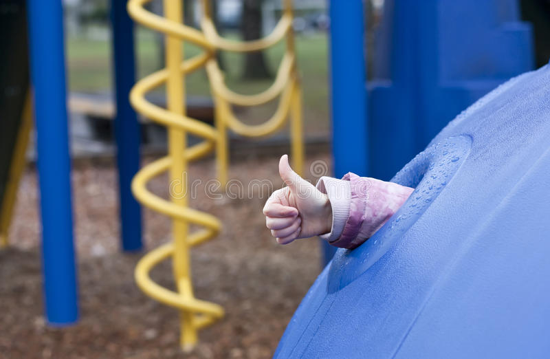 Download Child on playground stock photo. Image of outdoors, gesture - 22806646