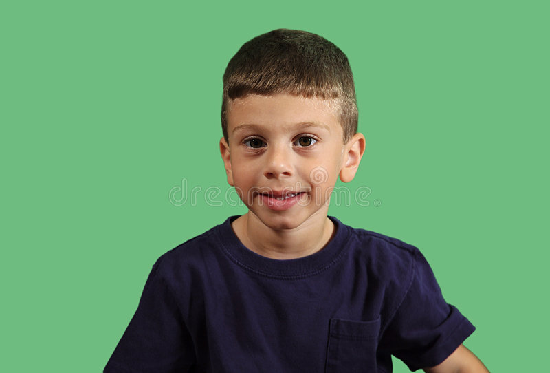 Download Child Portrait stock photo. Image of chromakey, smiling - 16854