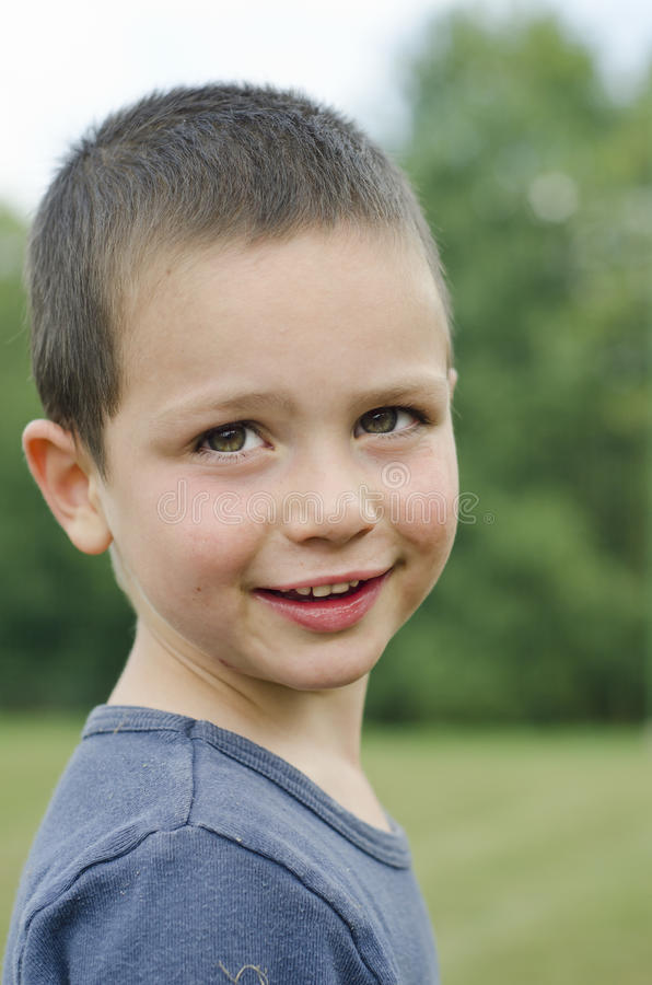 Download Child portrait stock photo. Image of meadow, expressive - 27154816