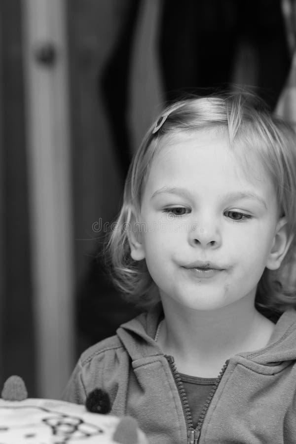 Child portrait. Portrait of a little girl - portrait photography royalty free stock image