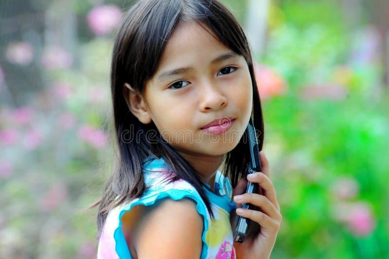 Child pose royalty free stock image