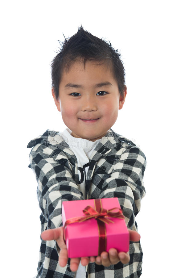 Download Child and present stock photo. Image of present, japanese - 24401698