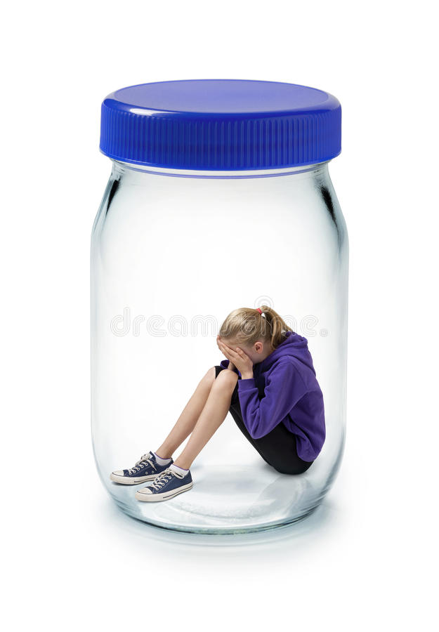 Free Child Psychology Stress Anxiety Mental Health Royalty Free Stock Photography - 16024727