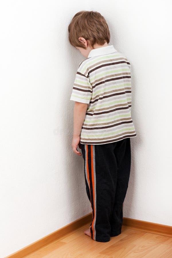 Child punishment royalty free stock image
