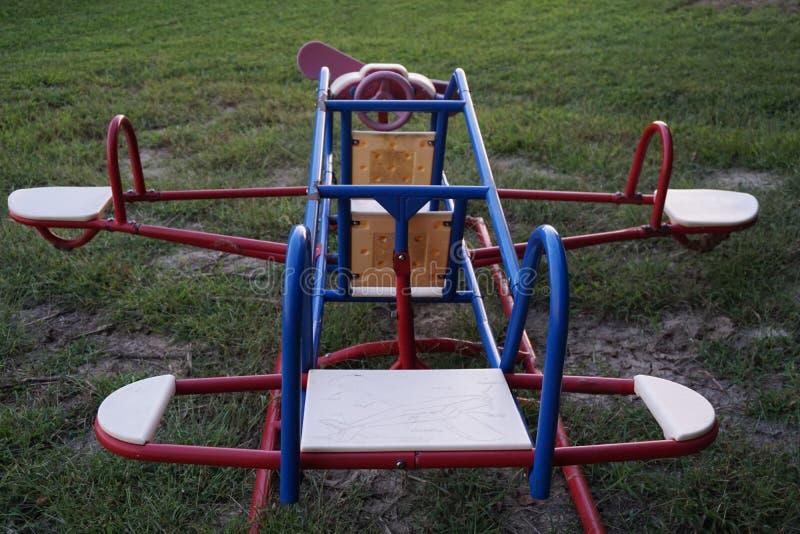 Child& x27; s airplane2 foto de stock royalty free