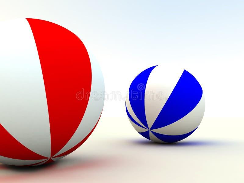 Child's balls stock illustration