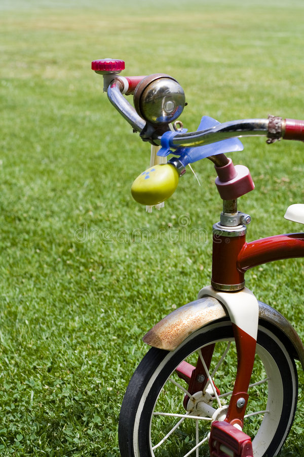 Download Child's Bike stock image. Image of health, peaceful, helping - 1189809