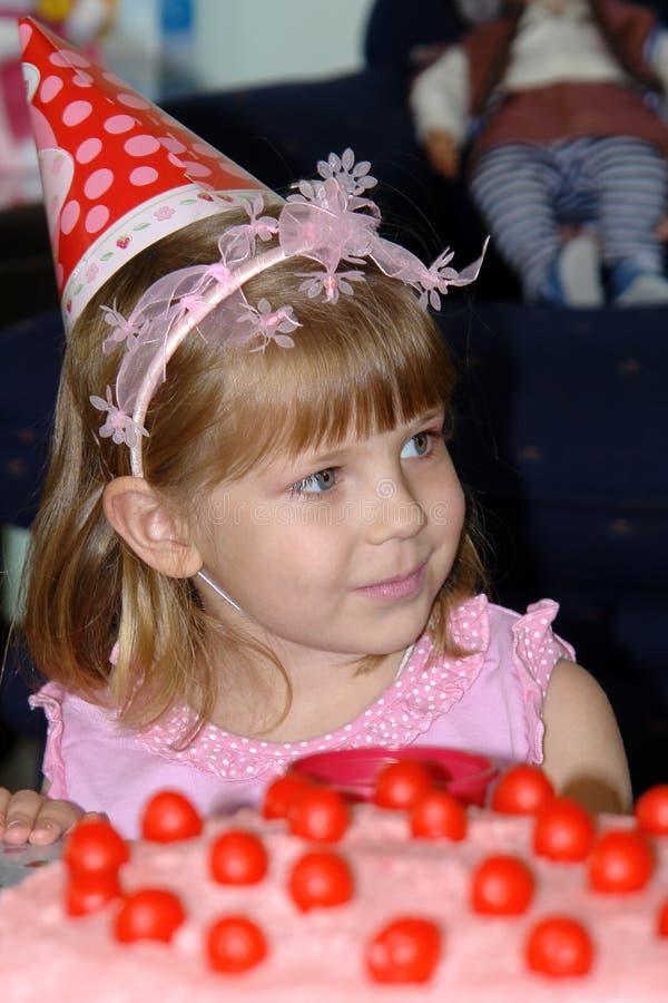 Child's birthday stock photo