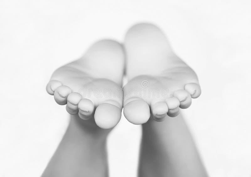Child's Feet royalty free stock photo