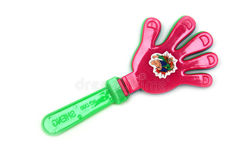 Download Child's hand toy stock photo. Image of small, waver, shaker - 237764