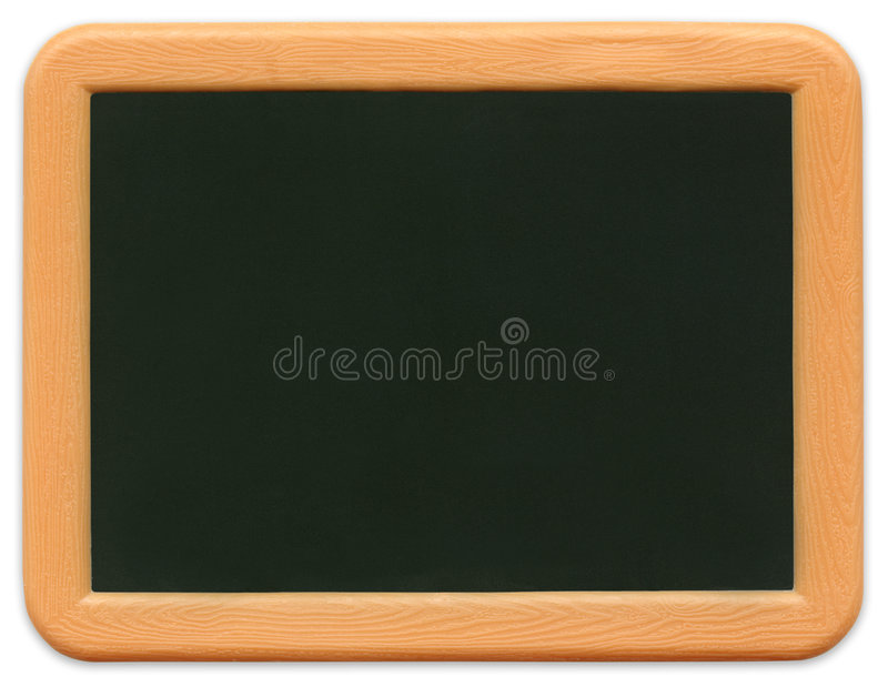 Child's Mini Chalkboard (path included) royalty free stock images