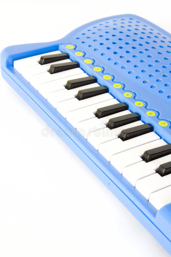 Download Child's piano stock image. Image of note, plastic, octave - 2050553