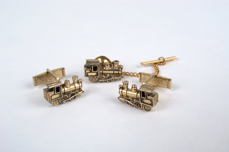Download Child's Tie Tac And Cufflink Set Stock Images - Image: 8184