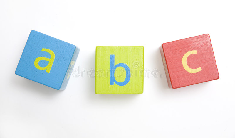 Download Child's Wooden Building Blocks Stock Photo - Image: 3297798