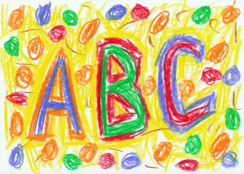 Download Child scribble stock illustration. Illustration of backgrounds - 12020623