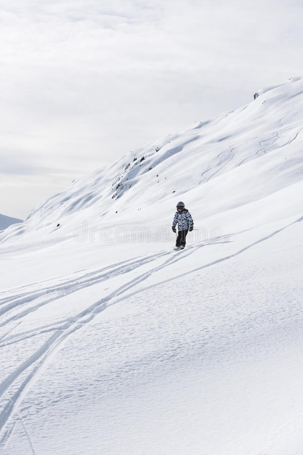 Download Child Skiing, French Alps Royalty Free Stock Photos - Image: 13225568