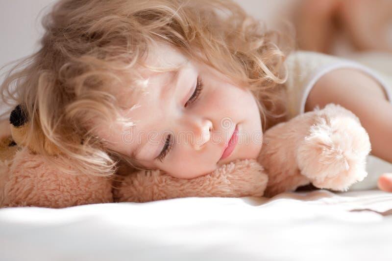 Child sleeping stock photos