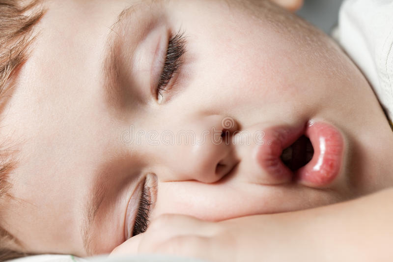 Download Child sleeping stock photo. Image of closed, innocence - 23635434