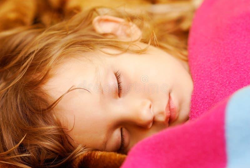 child sleeps στοκ φωτογραφίες