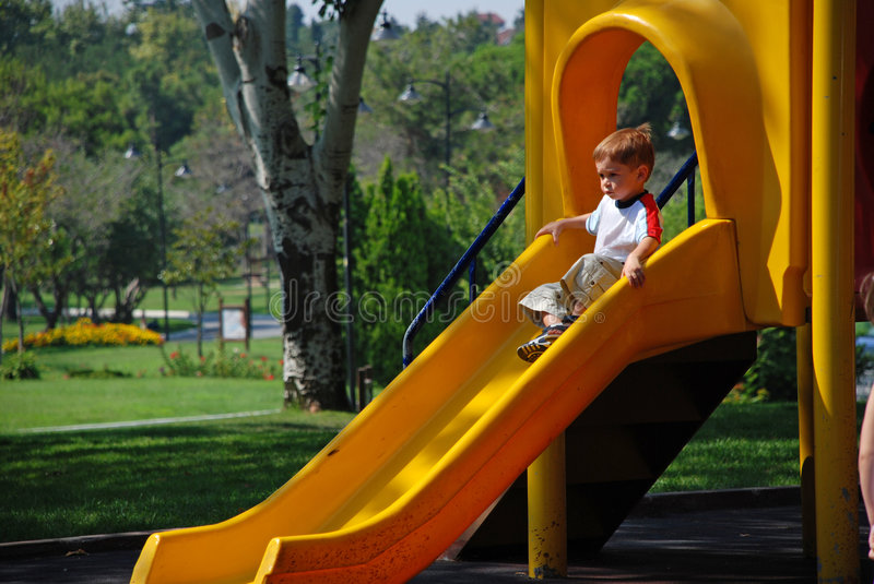Download Child Sliding Stock Photos - Image: 7835773