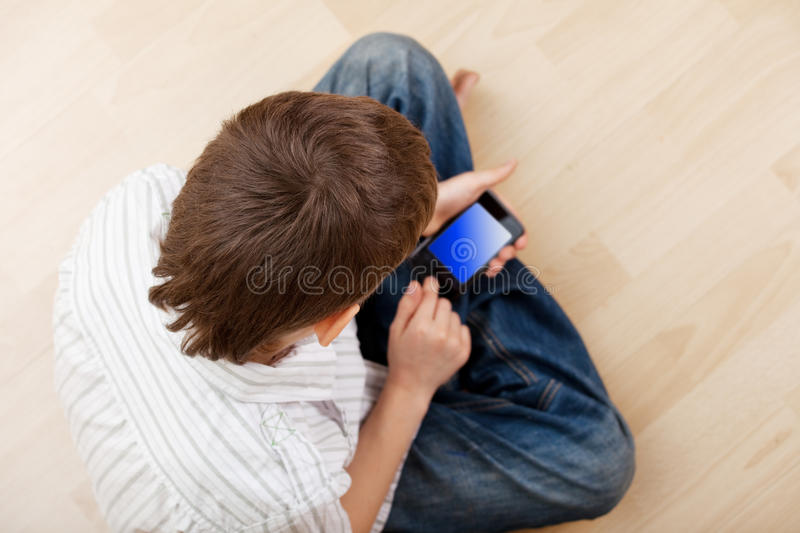 Download Child With Smart Phone Stock Images - Image: 23129834