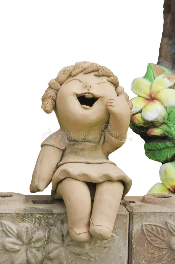 Download Child smile statue stock image. Image of child, funny - 20803609