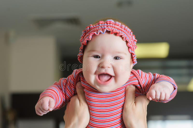 Child smiling mother royalty free stock images