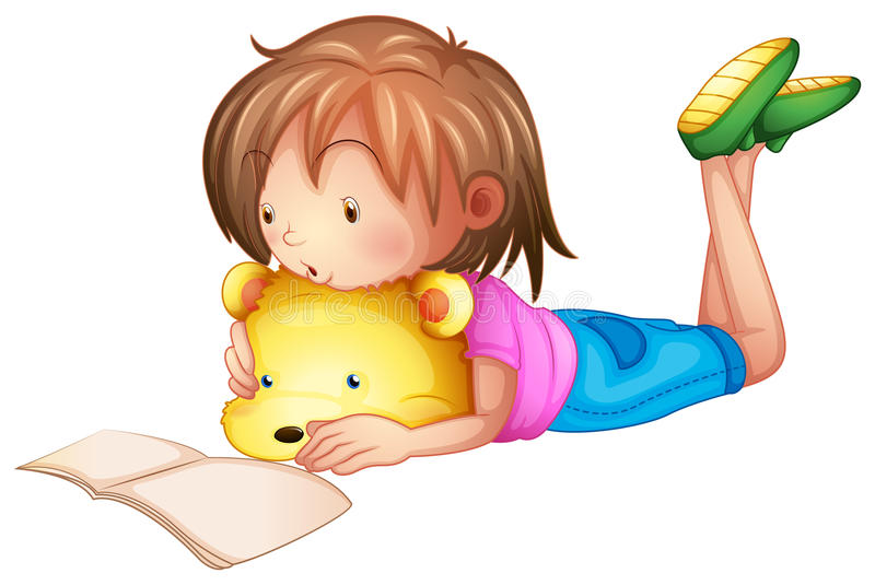 boy studying clipart