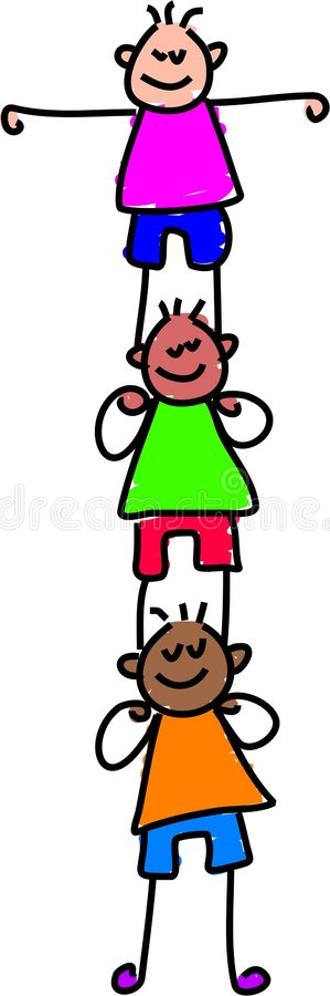 Child support stock illustration
