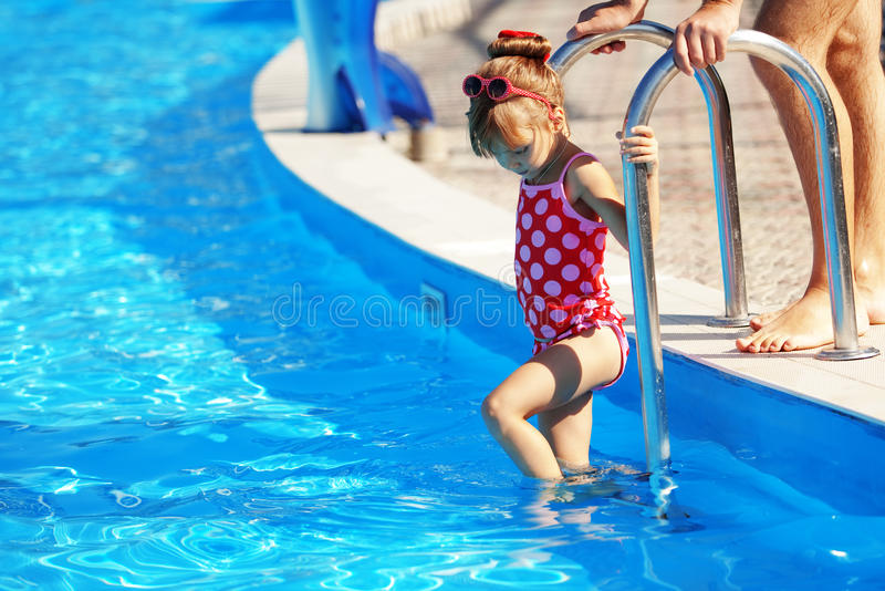 Download Child In Swimming Pool Stock Photo - Image: 19989430