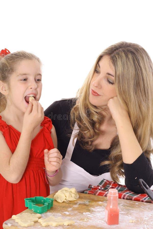 Download Child Tasting Cookie Batter Stock Image - Image: 4025477