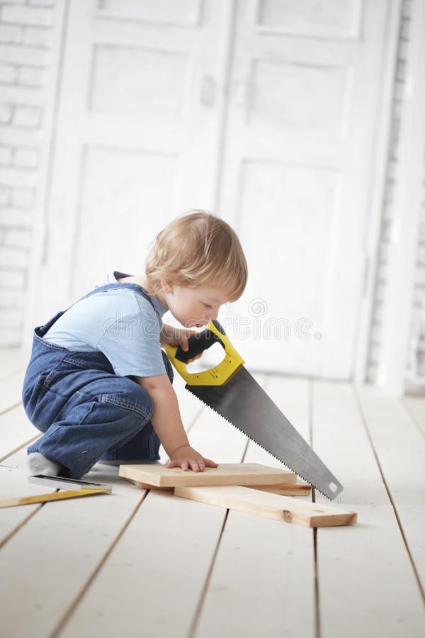 Download Child with tool stock photo. Image of imagination, aspirations - 30738150