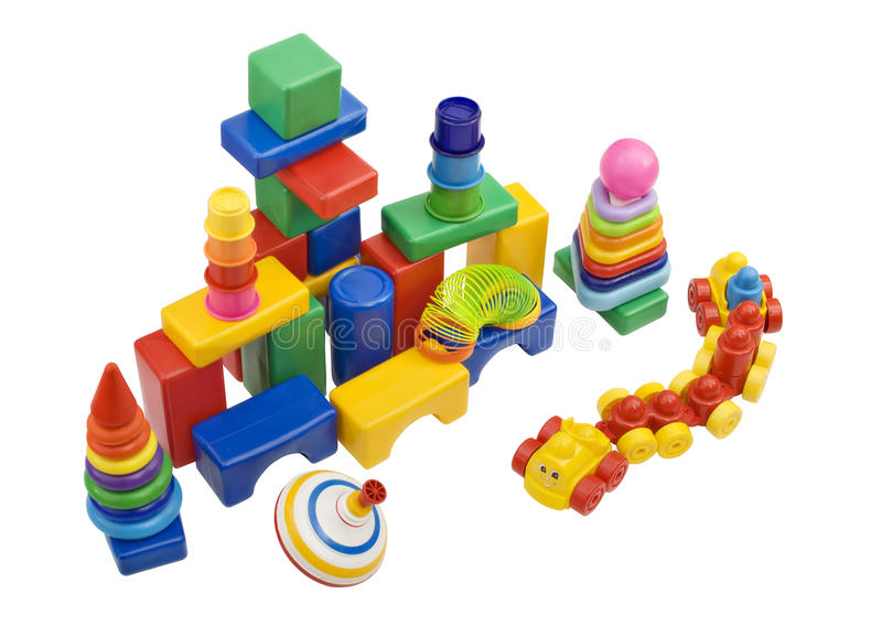 Child toys stock image