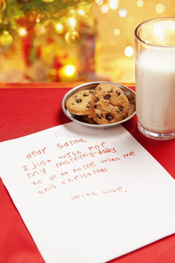 Download Child True Wish On Christmas Stock Image - Image of wish, blur: 12004865