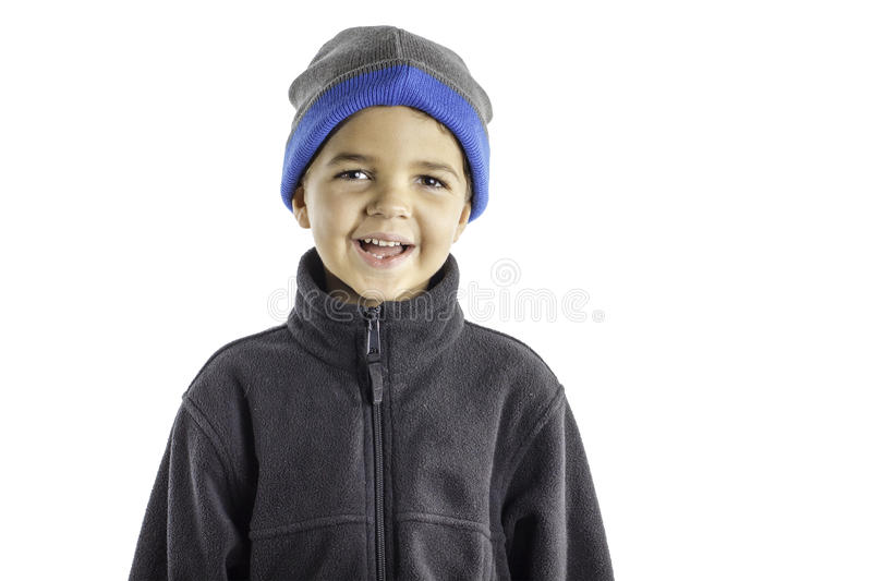 Child Winter Clothes 3 Royalty Free Stock Photography