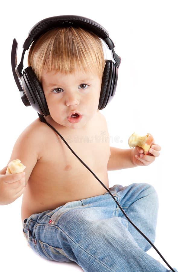 Free Child With Headphones Stock Image - 17346121