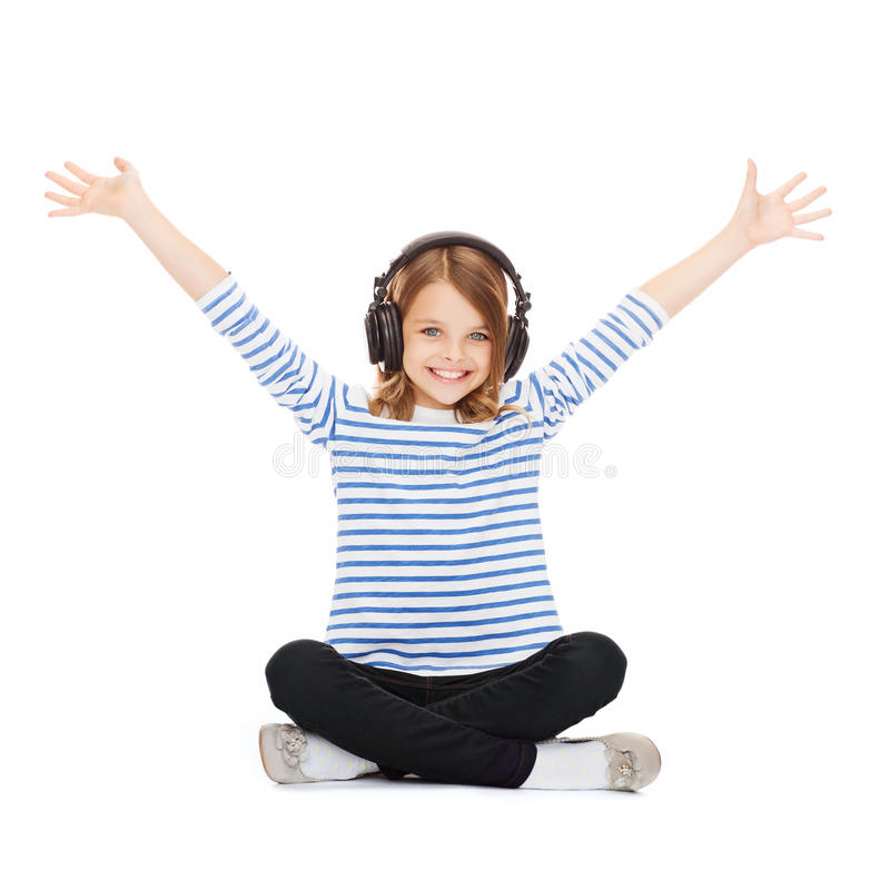 Free Child With Headphones Royalty Free Stock Images - 33877949