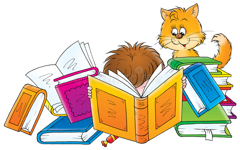 Childhood 023. Children's book illustration and vector clip-art