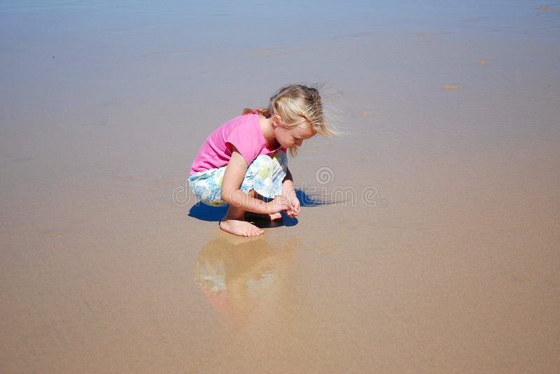 Download Childhood stock photo. Image of busy, collect, bare, sand - 5219138