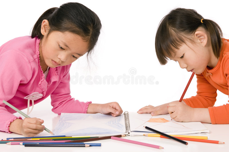 Download Childhood Drawing stock photo. Image of paper, child, education - 8836696