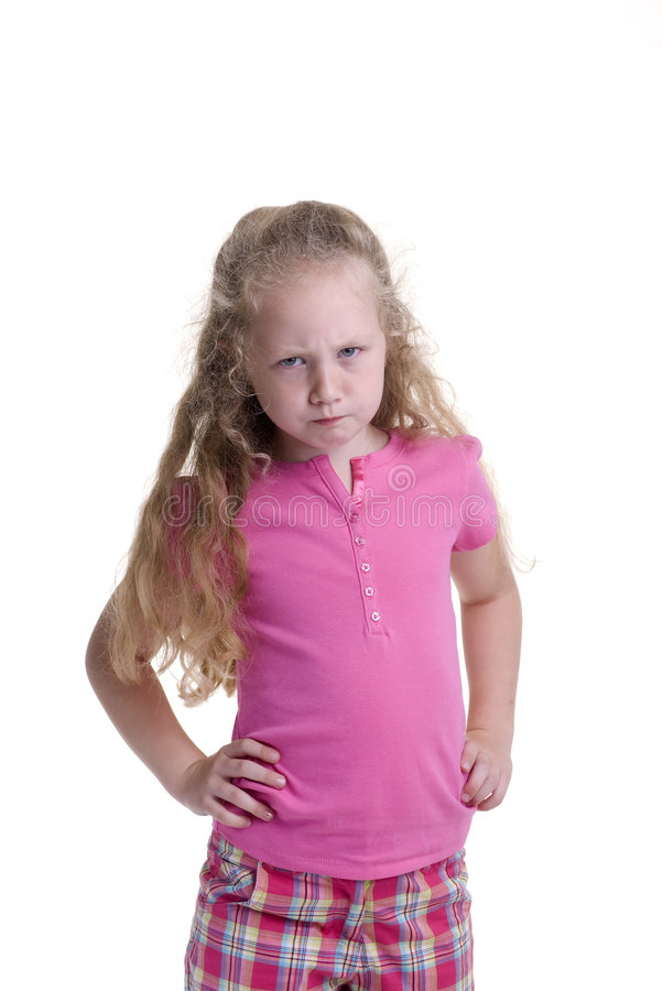 Childhood Girl Stock Images